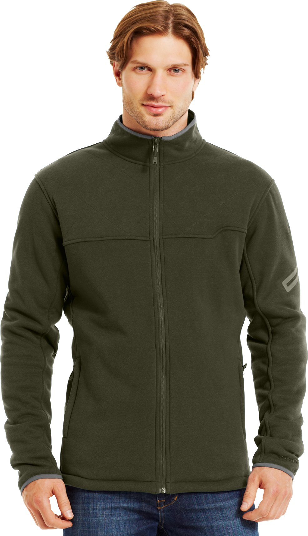 Men's Extreme ColdGear® Jacket, GREENHEAD, Front