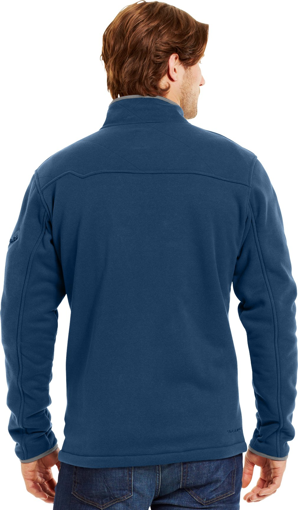 Men's Extreme ColdGear® Jacket, PETROL BLUE, Back