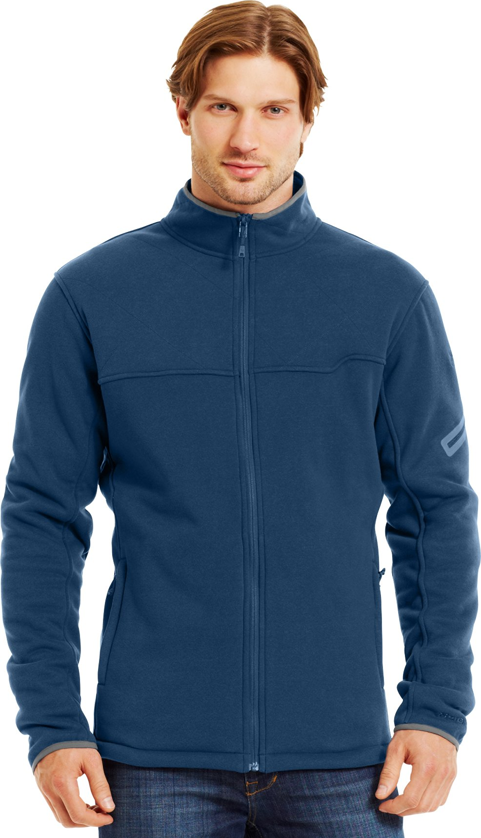 Men's Extreme ColdGear® Jacket, PETROL BLUE, Front