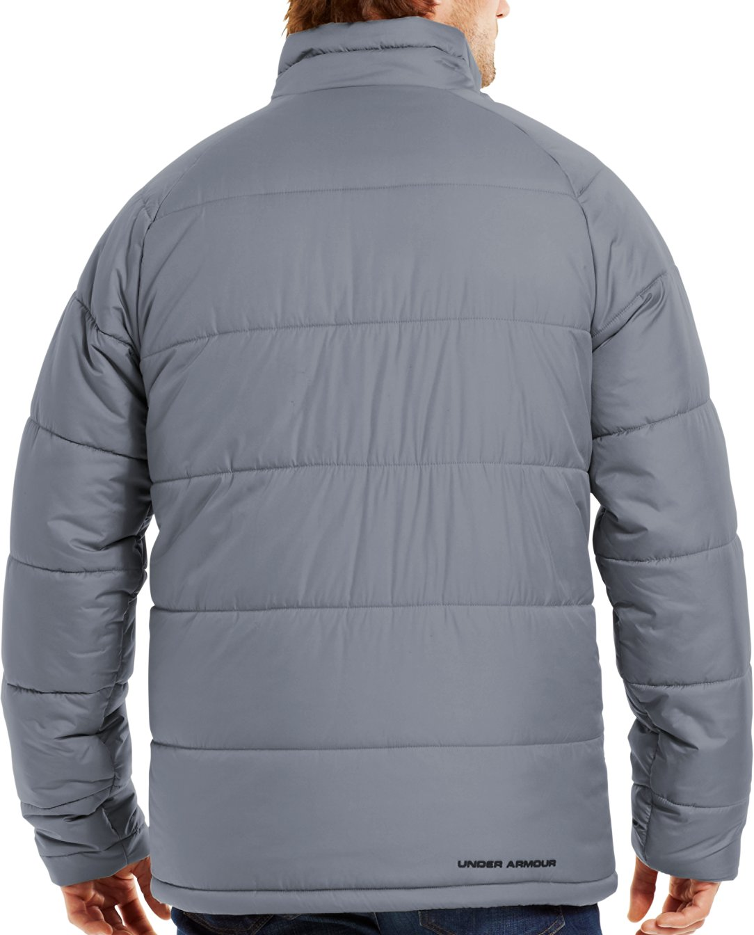 Men's ColdGear® Infrared Alpinlite Max Jacket, Steel, Back