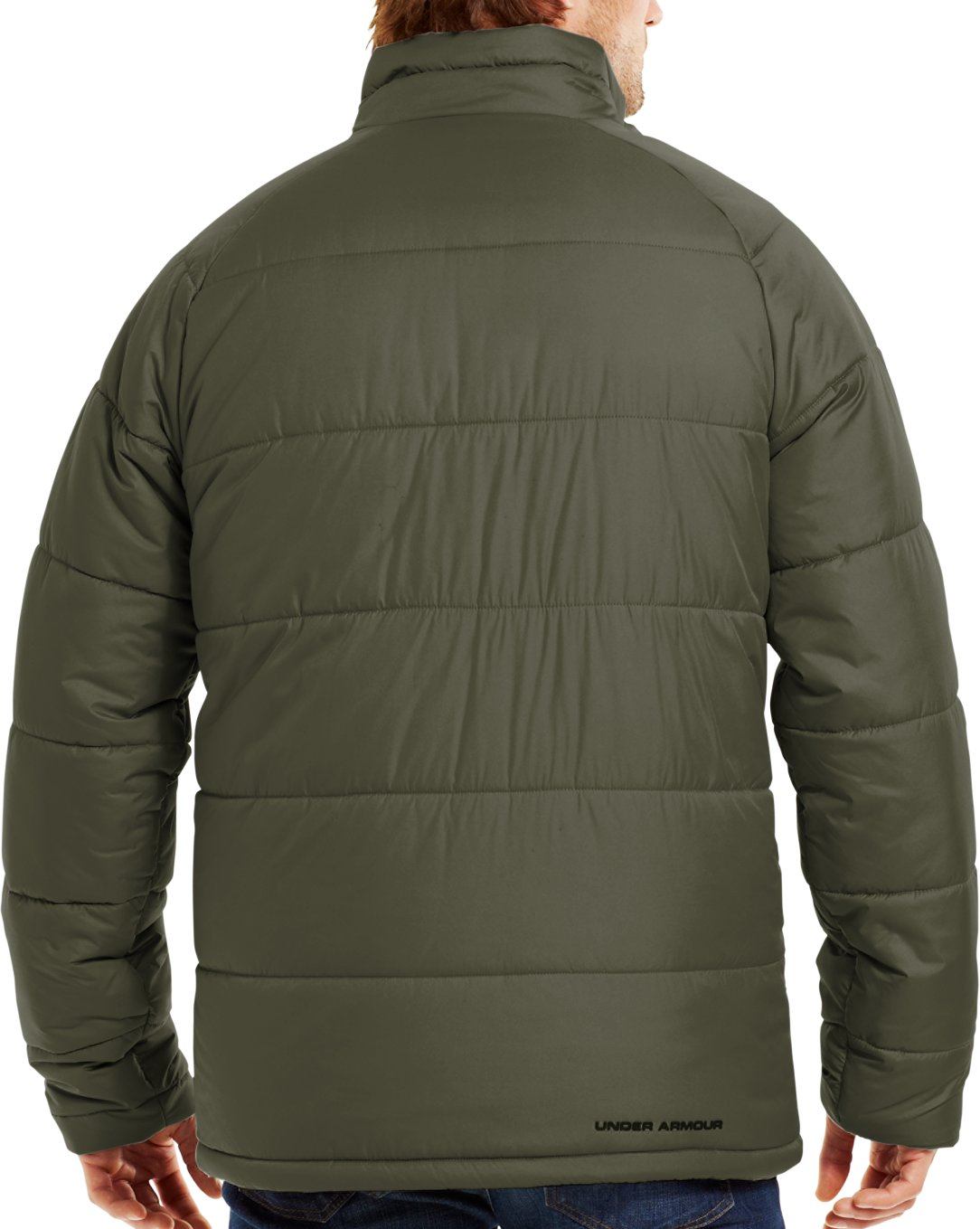 Men's ColdGear® Infrared Alpinlite Max Jacket, GREENHEAD, Back