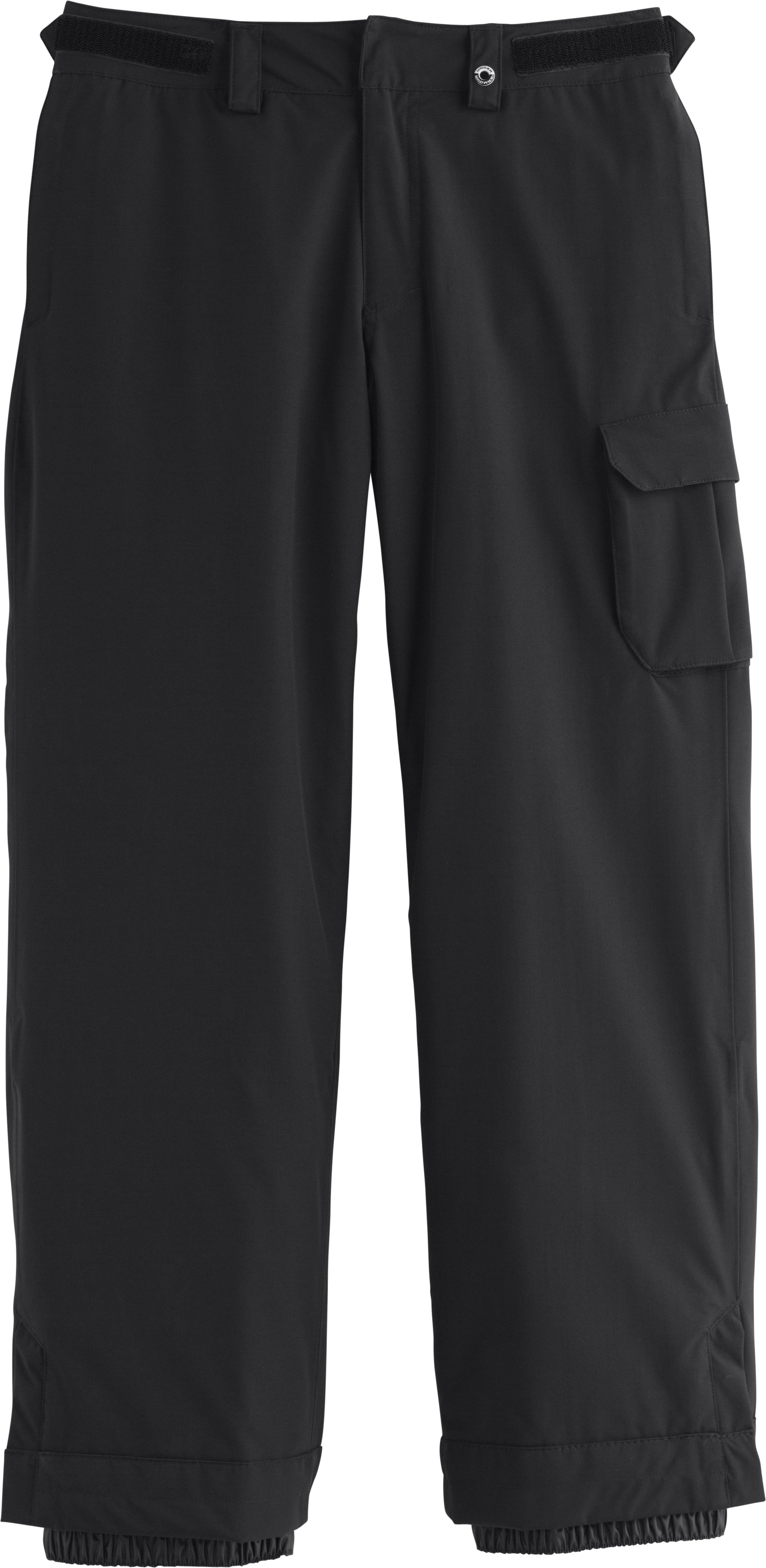 Boys' ColdGear® Infrared Hacker Pants, Black , Laydown
