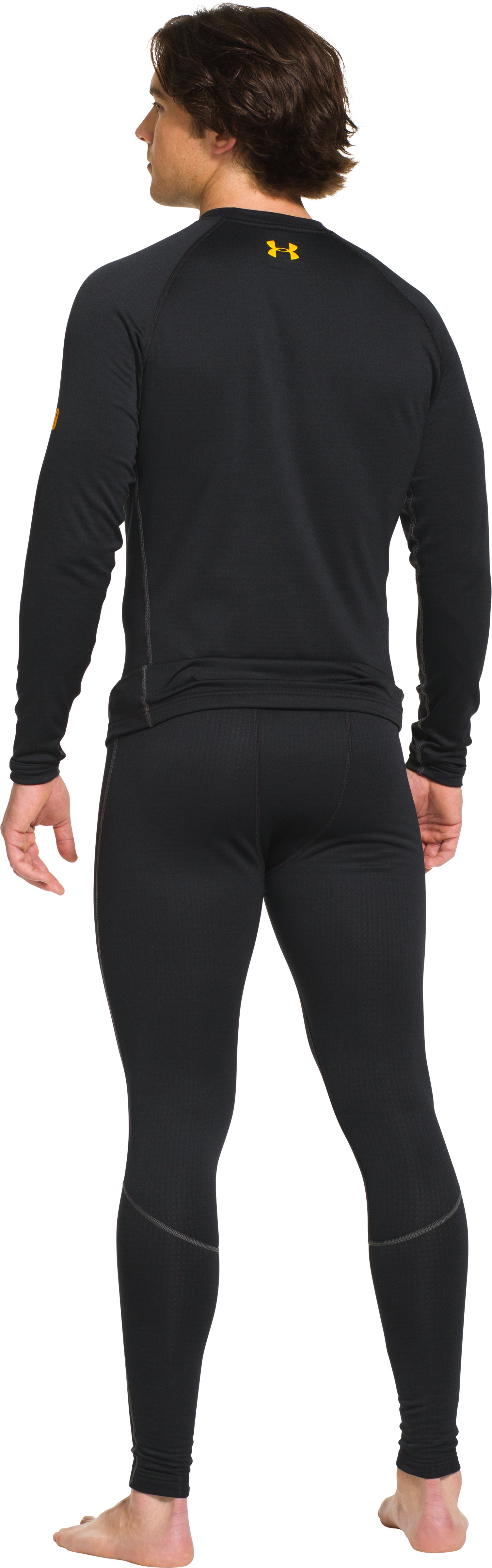 Men's UA Base™ 2.0 Crew, Black , Back