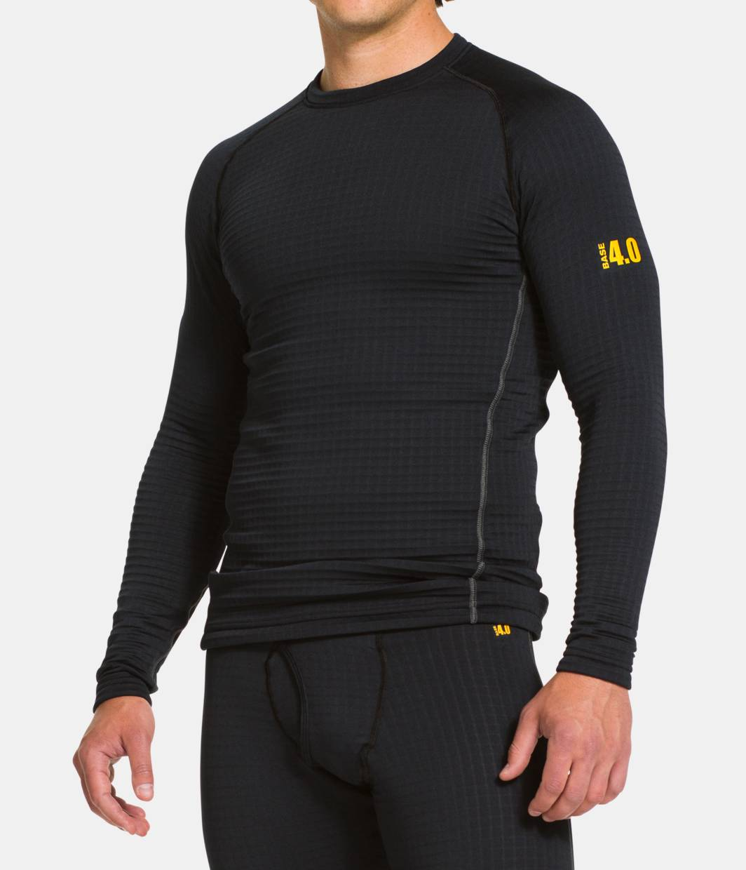 Men s ua base 4 0 crew under armour us for Under armour cold gear shirt mens