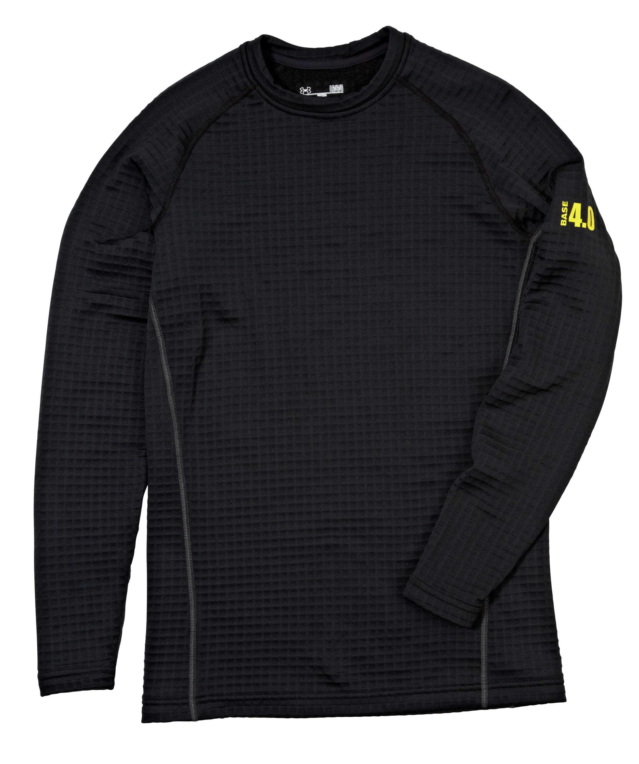 Men's UA Base™ 4.0 Crew, Black