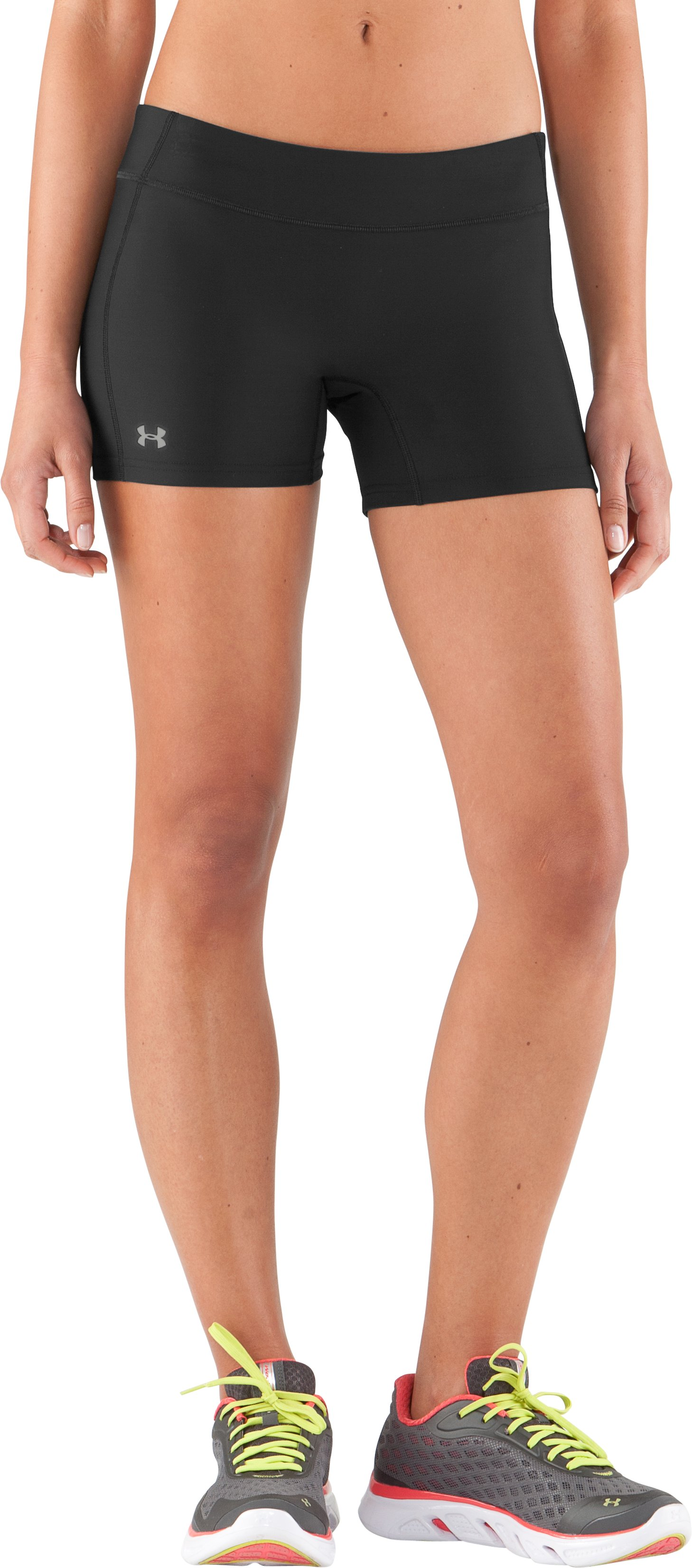 Women's UA Authentic Shorty, Black , zoomed image