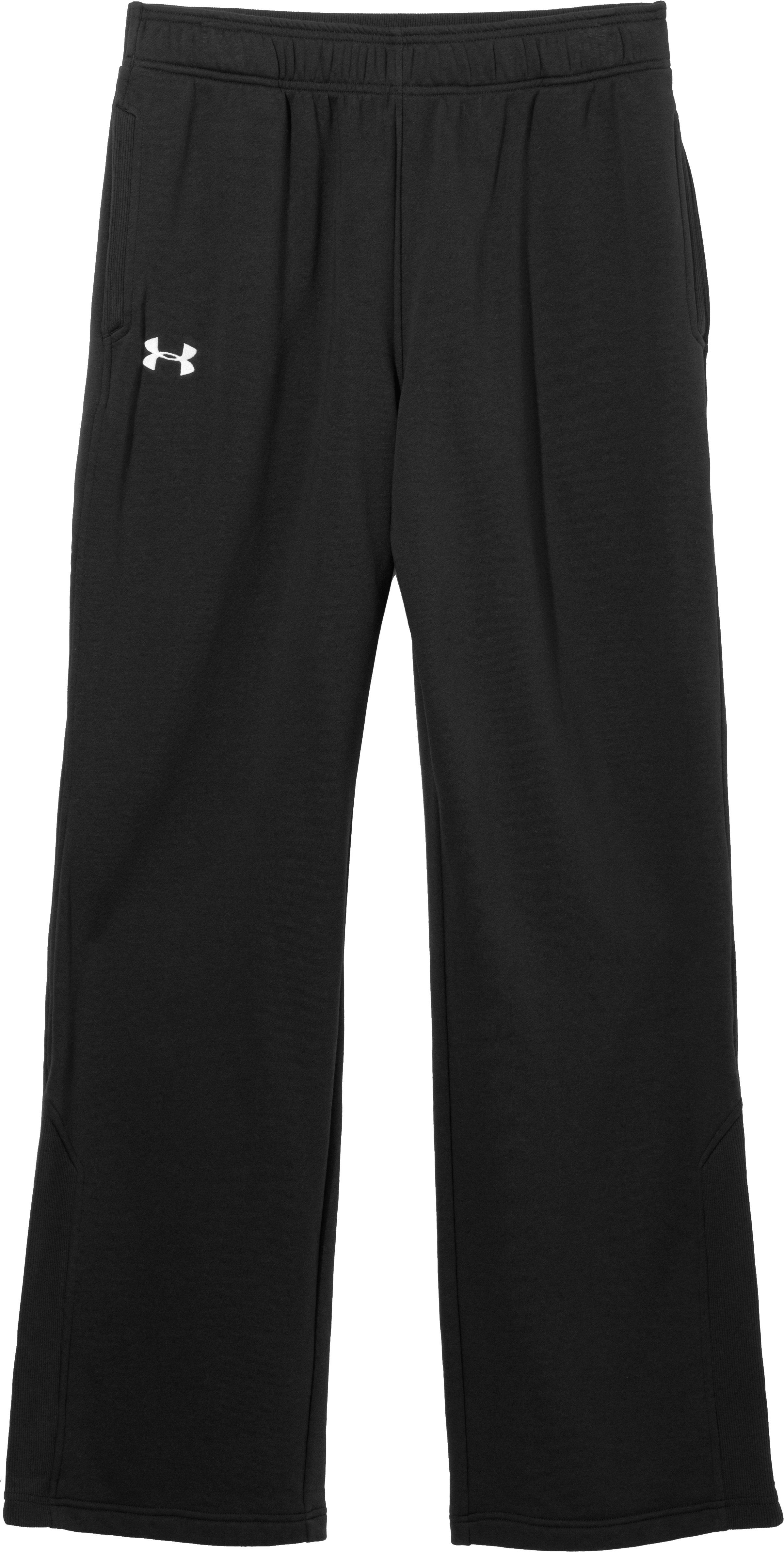Men's Charged Cotton® Storm Sideline Pants, Black , Laydown