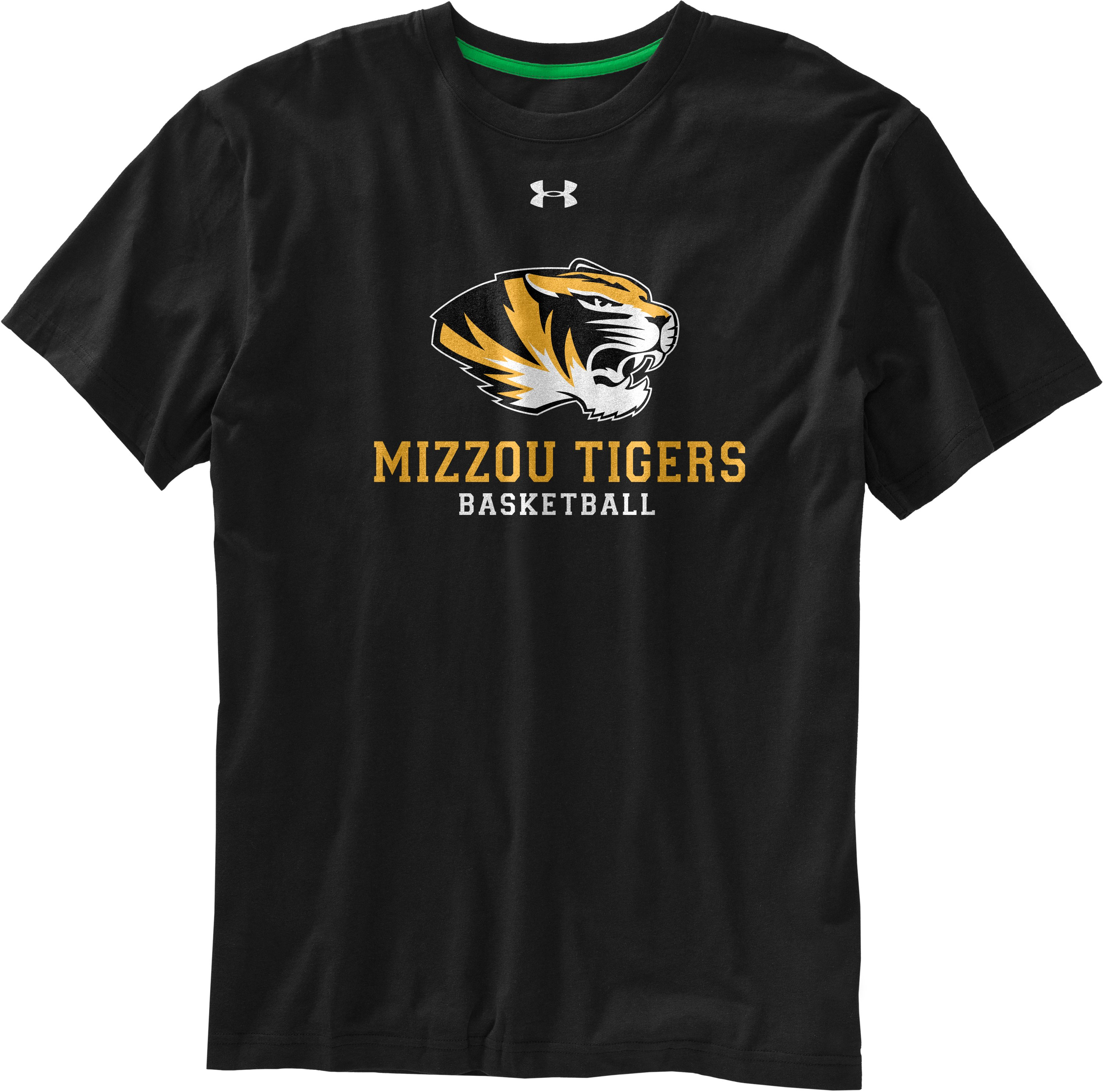 Men's Mizzou UA T-Shirt, Black , undefined