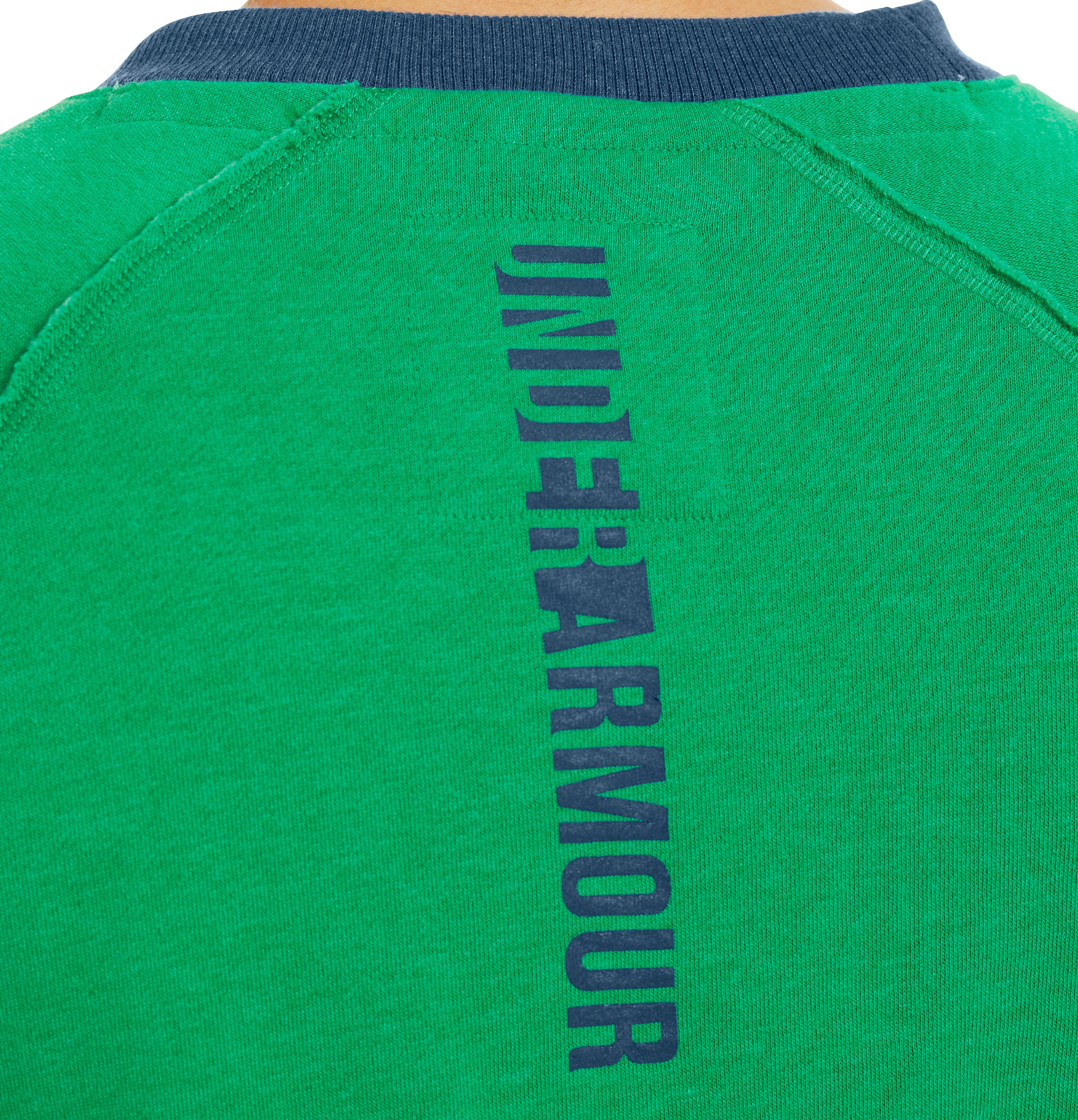 Men's Charged Cotton® Legacy Fleece Crew, ASTRO GREEN,