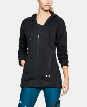 Women's UA Wintersweet Full Zip Hoodie  1 Color $59.99