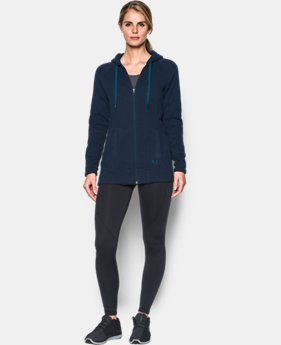 Women's UA Wintersweet Full Zip Hoodie  1 Color $99.99