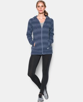 Women's UA Wintersweet Full Zip Hoodie LIMITED TIME: FREE U.S. SHIPPING 3 Colors $56.24 to $74.99