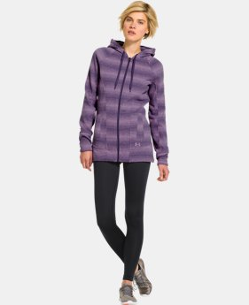 Women's UA Wintersweet Full Zip Hoodie  4 Colors $74.99