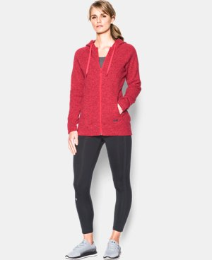 Women's UA Wintersweet Full Zip Hoodie LIMITED TIME: FREE U.S. SHIPPING 4 Colors $56.24 to $74.99