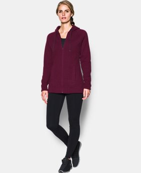 Women's UA Wintersweet Full Zip Hoodie  4 Colors $99.99