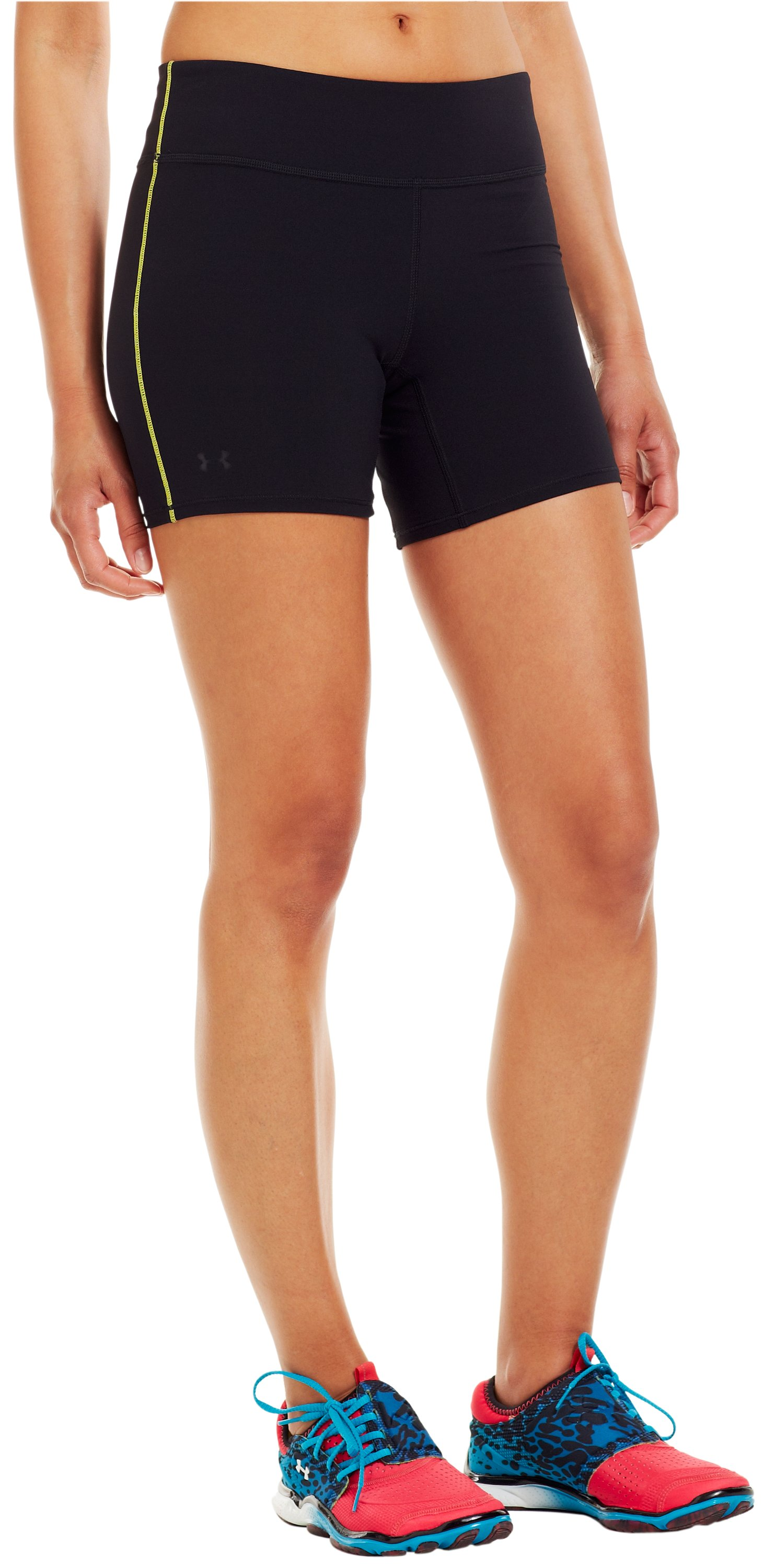Women's UA Pure Stretch HeatGear® Shorty, Black , zoomed image