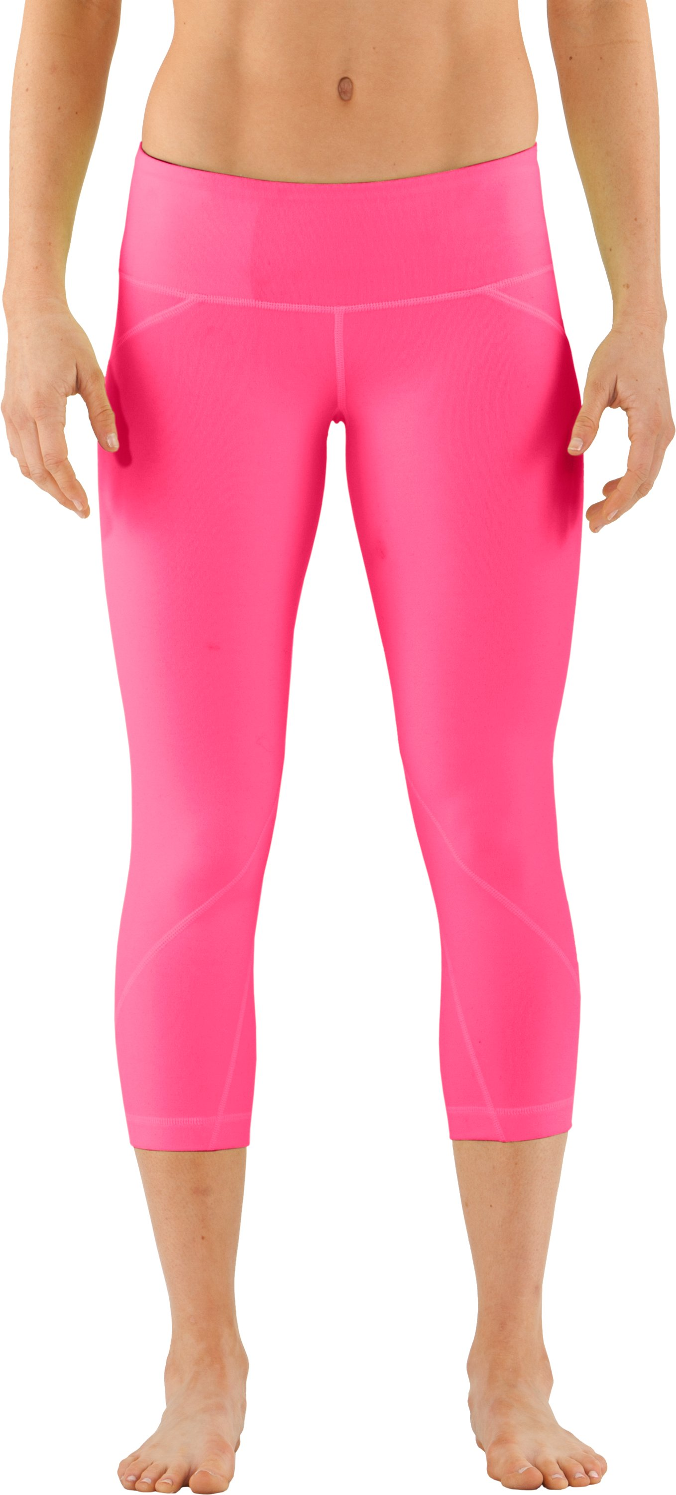 Women's UA Studio Rave Capri, Neo Pulse