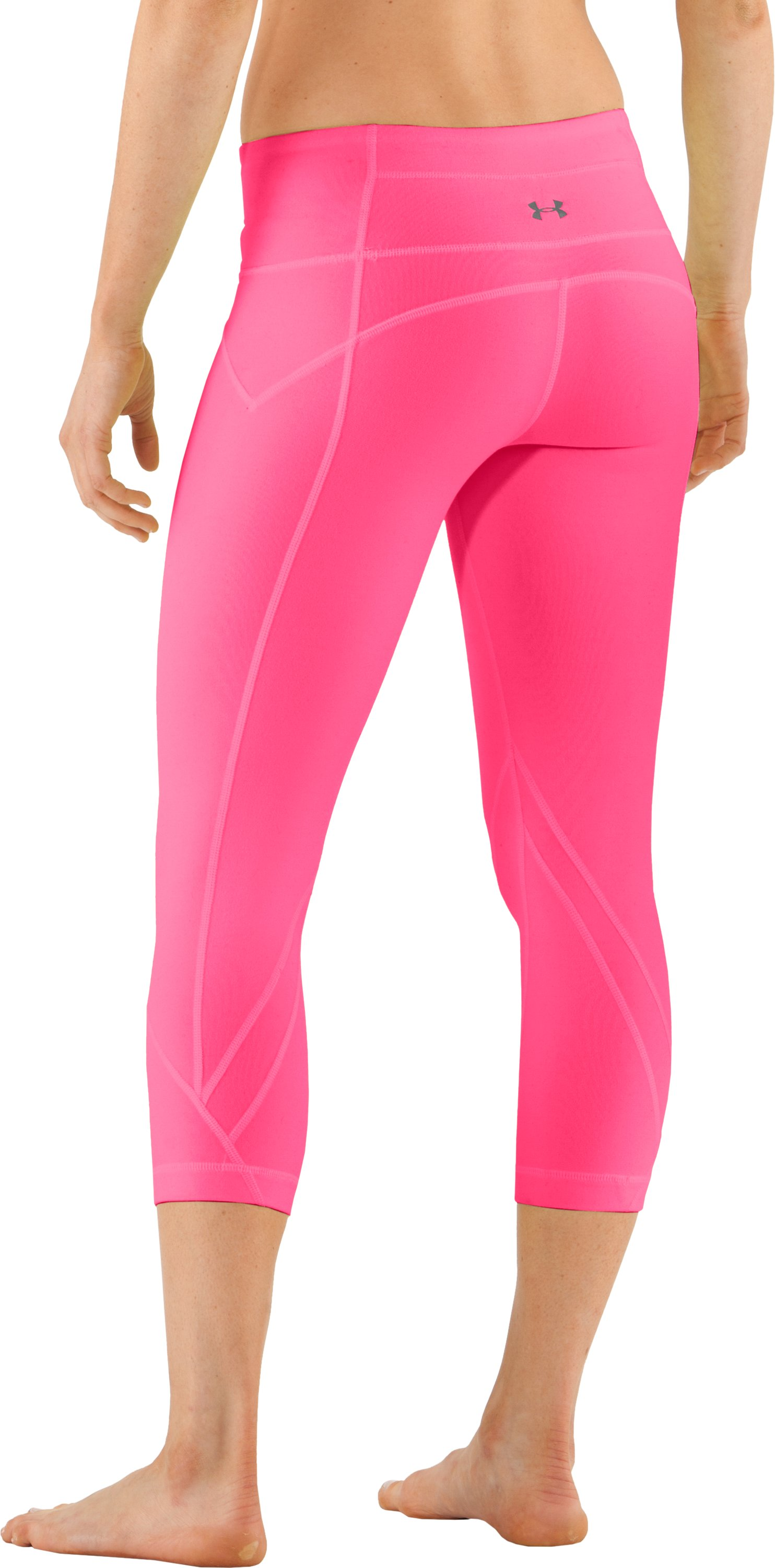 Women's UA Studio Rave Capri, Neo Pulse, undefined