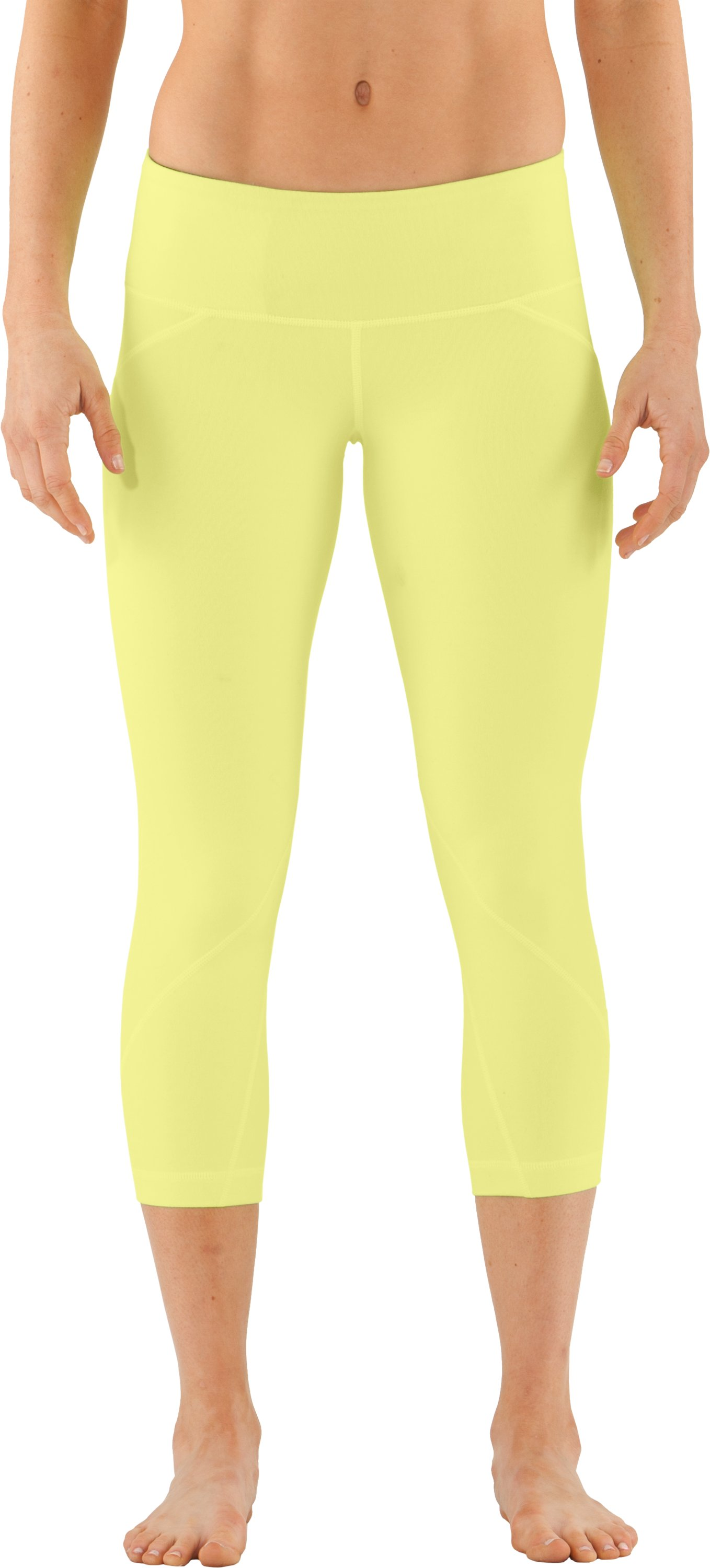 Women's UA Studio Rave Capri, X-Ray, zoomed image