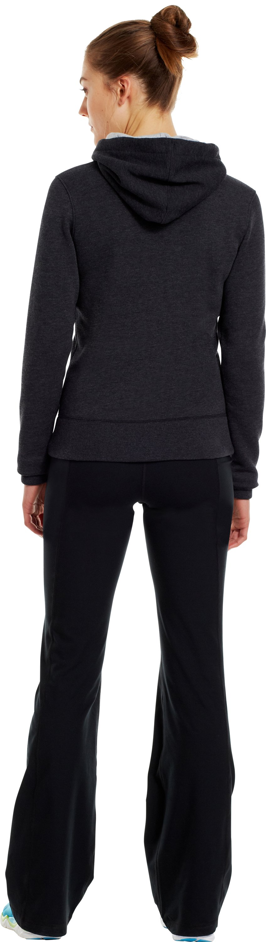 Women's Charged Cotton® Legacy Hoodie, Black , Back