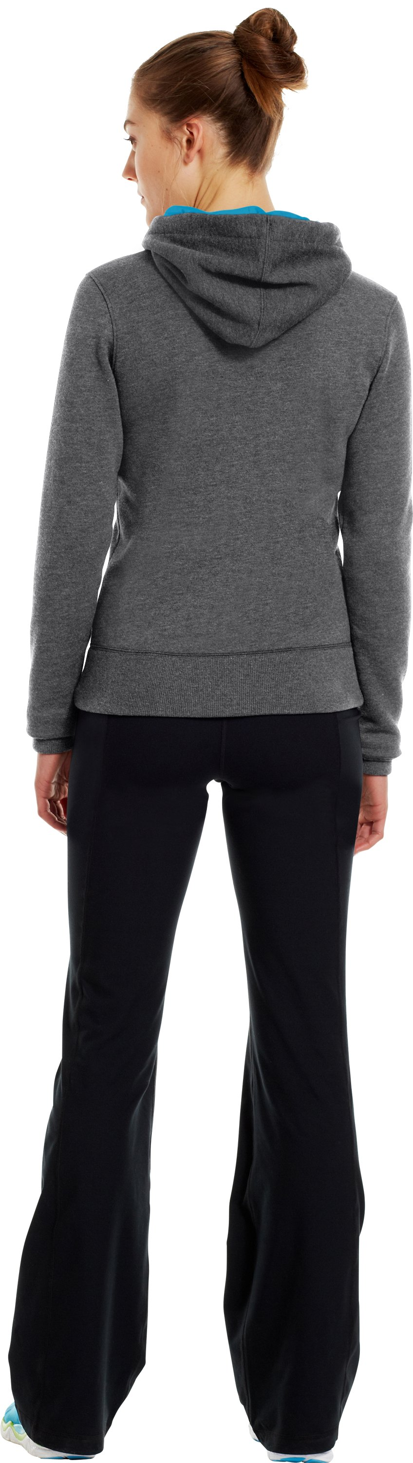 Women's Charged Cotton® Legacy Hoodie, Graphite, Back