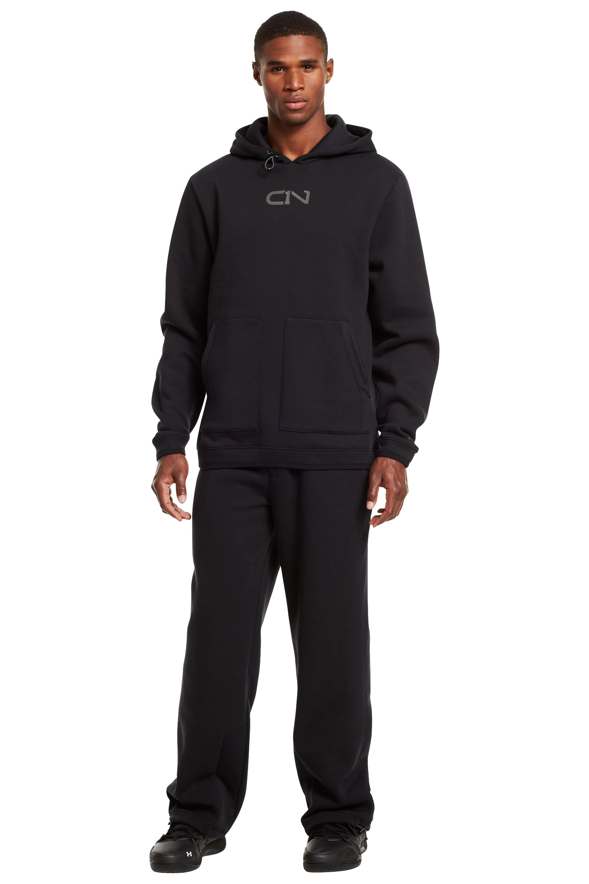 Men's C1N Charged Cotton® Storm Pants, Black , Front
