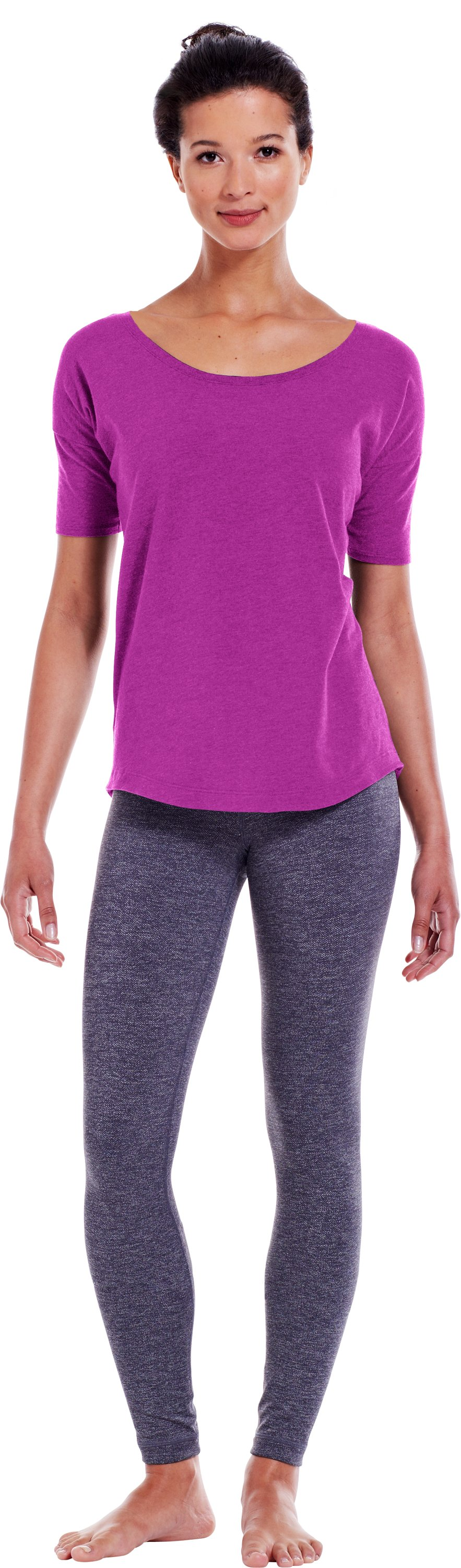 Women's UA Flow T-Shirt, STROBE, zoomed image