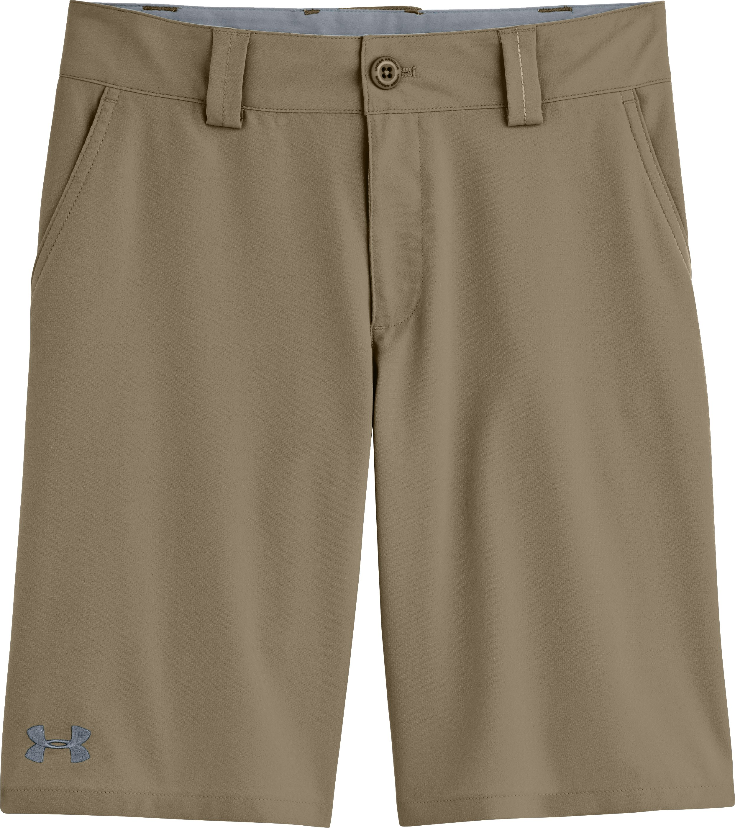 Boys' UA Forged Golf Shorts, Canvas, Laydown