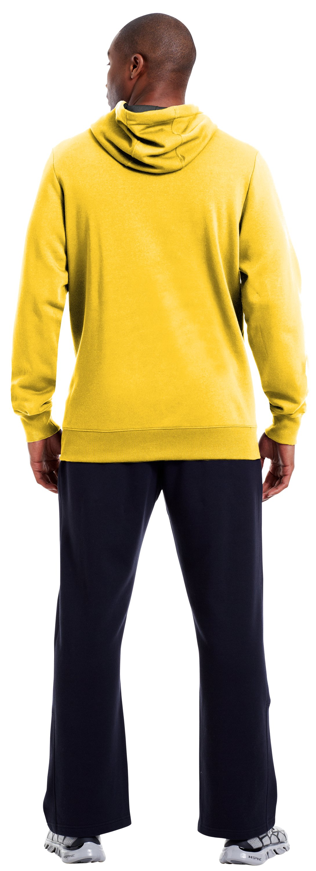 Men's Charged Cotton® Storm Battle Hoodie, Taxi, Back