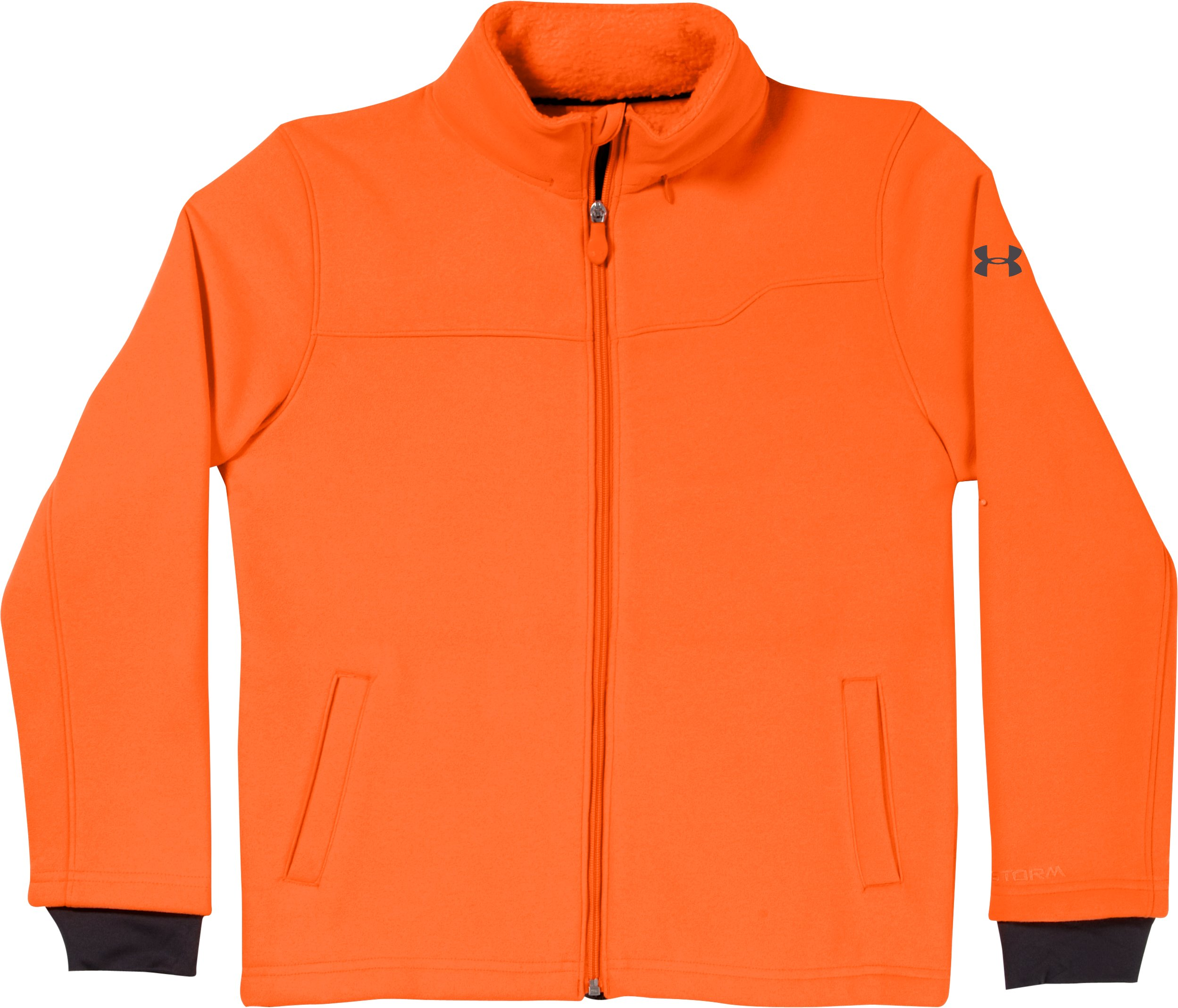 Boys' Extreme ColdGear® Jacket, Blaze Orange, Laydown