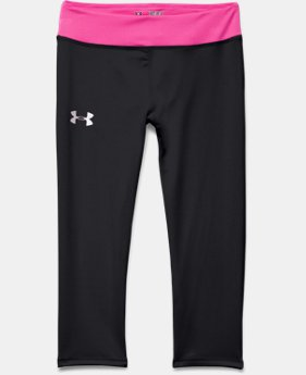 Girls' HeatGear® Armour Capri