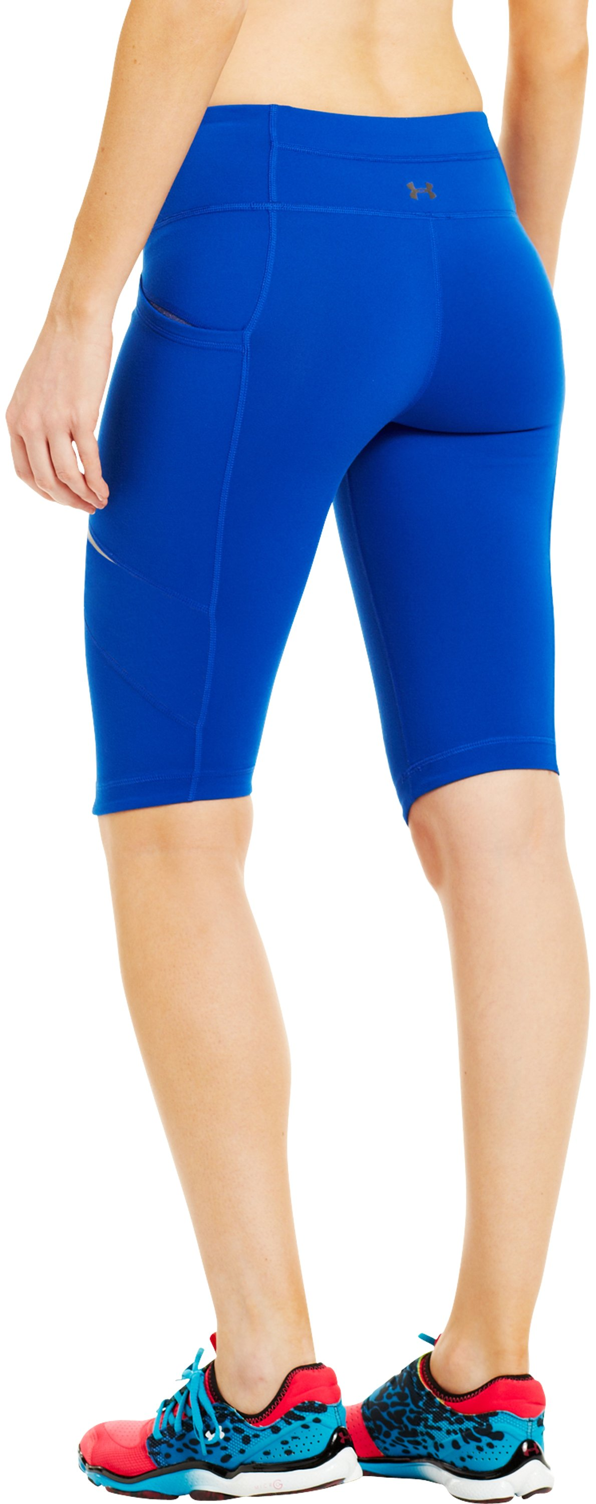 Women's UA StudioLux® Spin Shorts, BLU-AWAY