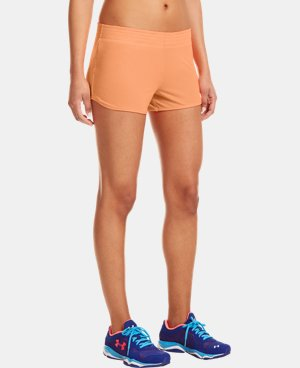 "Women's UA Fly-By Knit 3"" Short LIMITED TIME: FREE U.S. SHIPPING 1 Color $17.99"