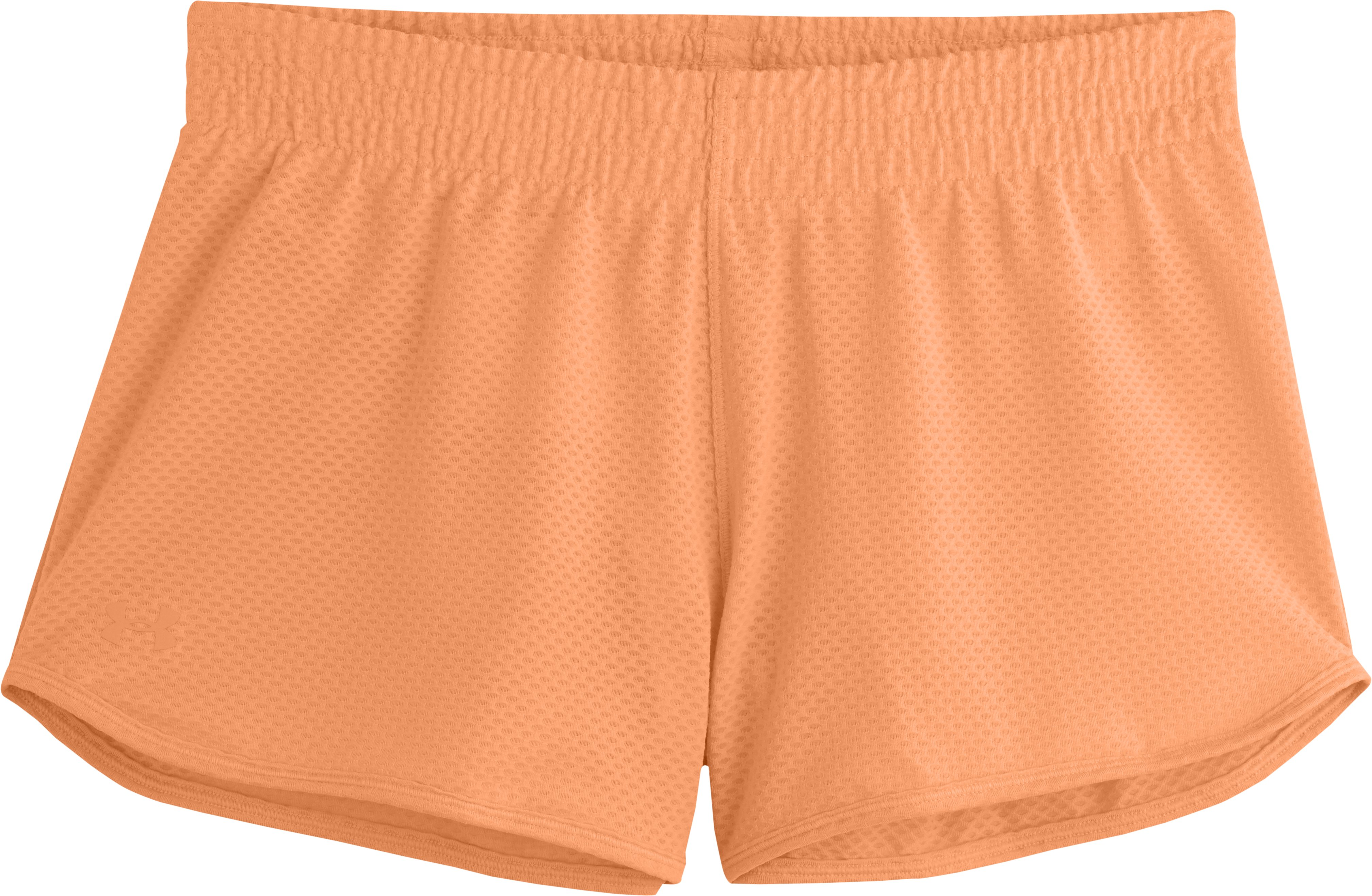"Women's UA Fly-By Knit 3"" Short, Afterglow, Laydown"