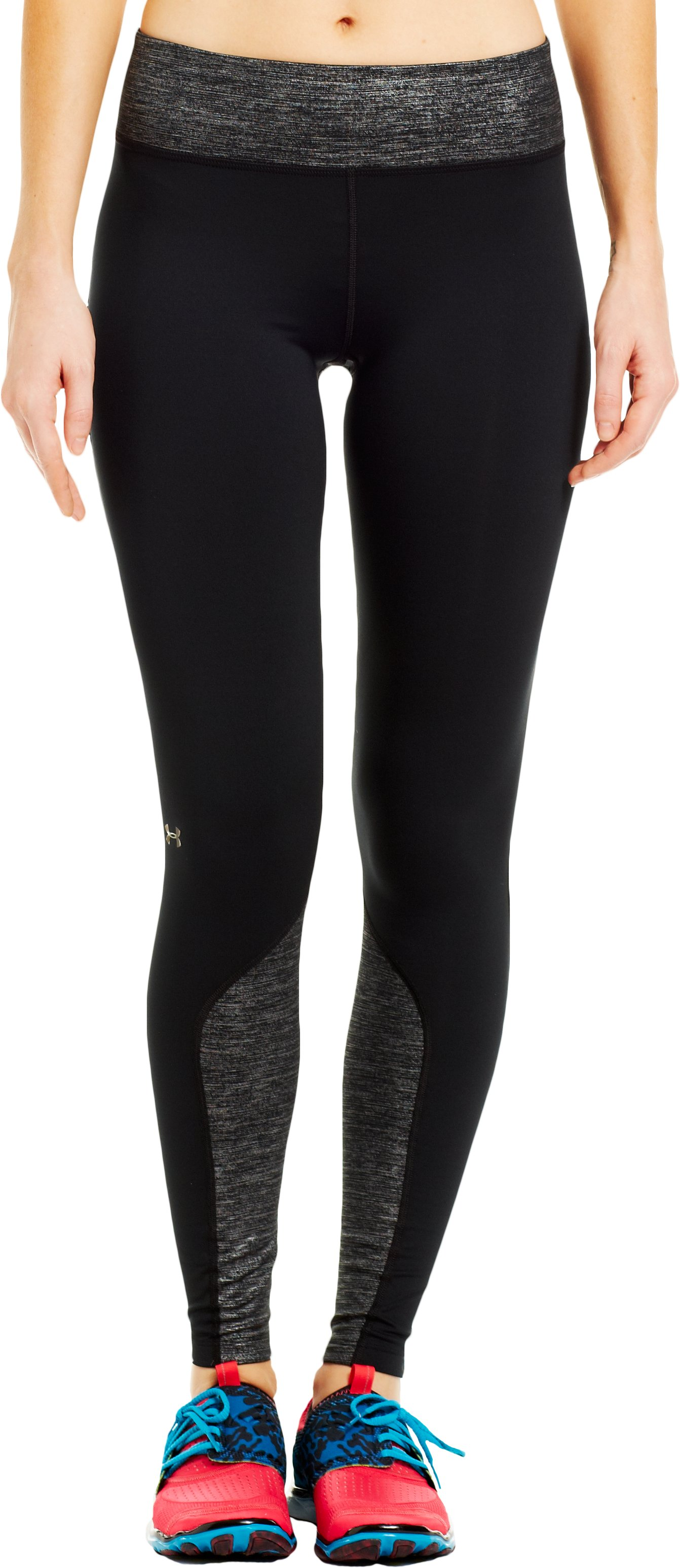 Women's UA Cozy Tight Shimmer, Black