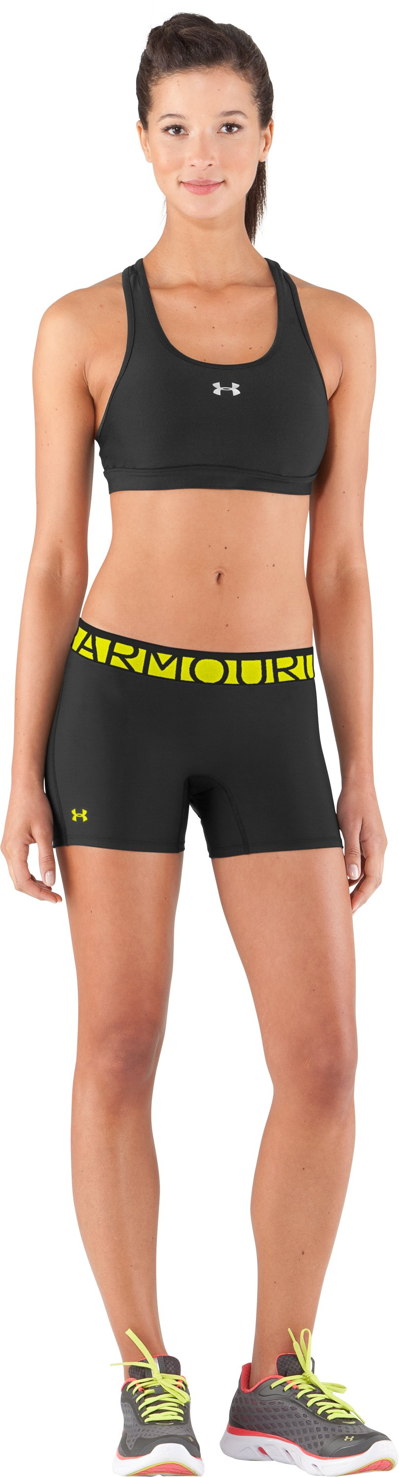 "Women's UA Still Gotta Have It 4"" Compression Shorts, Black , zoomed image"