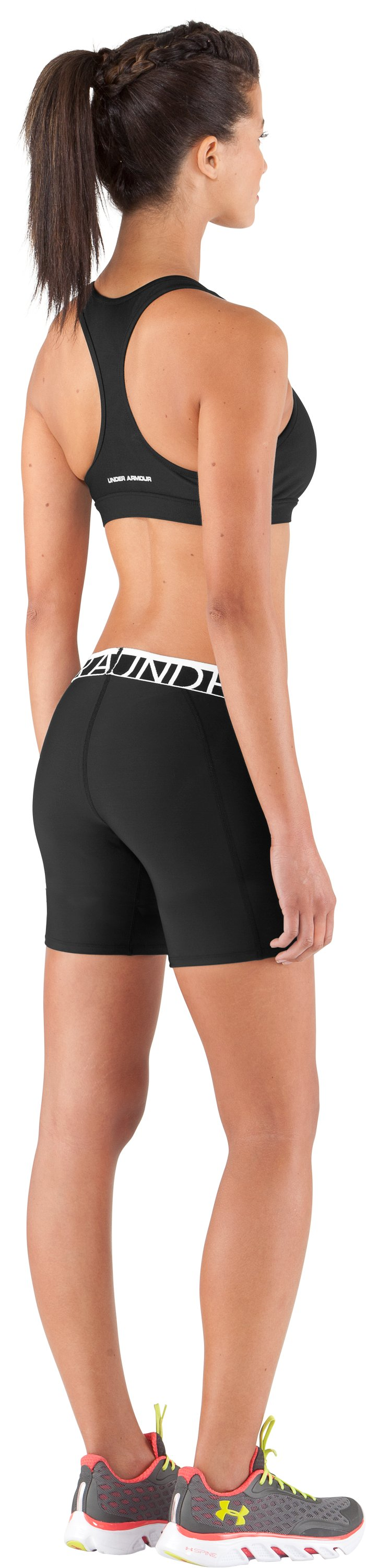 "Women's UA Still Gotta Have It 7"" Compression Shorts, Black , Back"