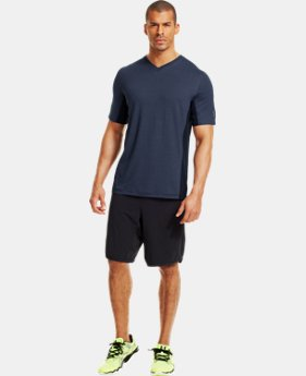 Men's UA Station V-Neck T-Shirt