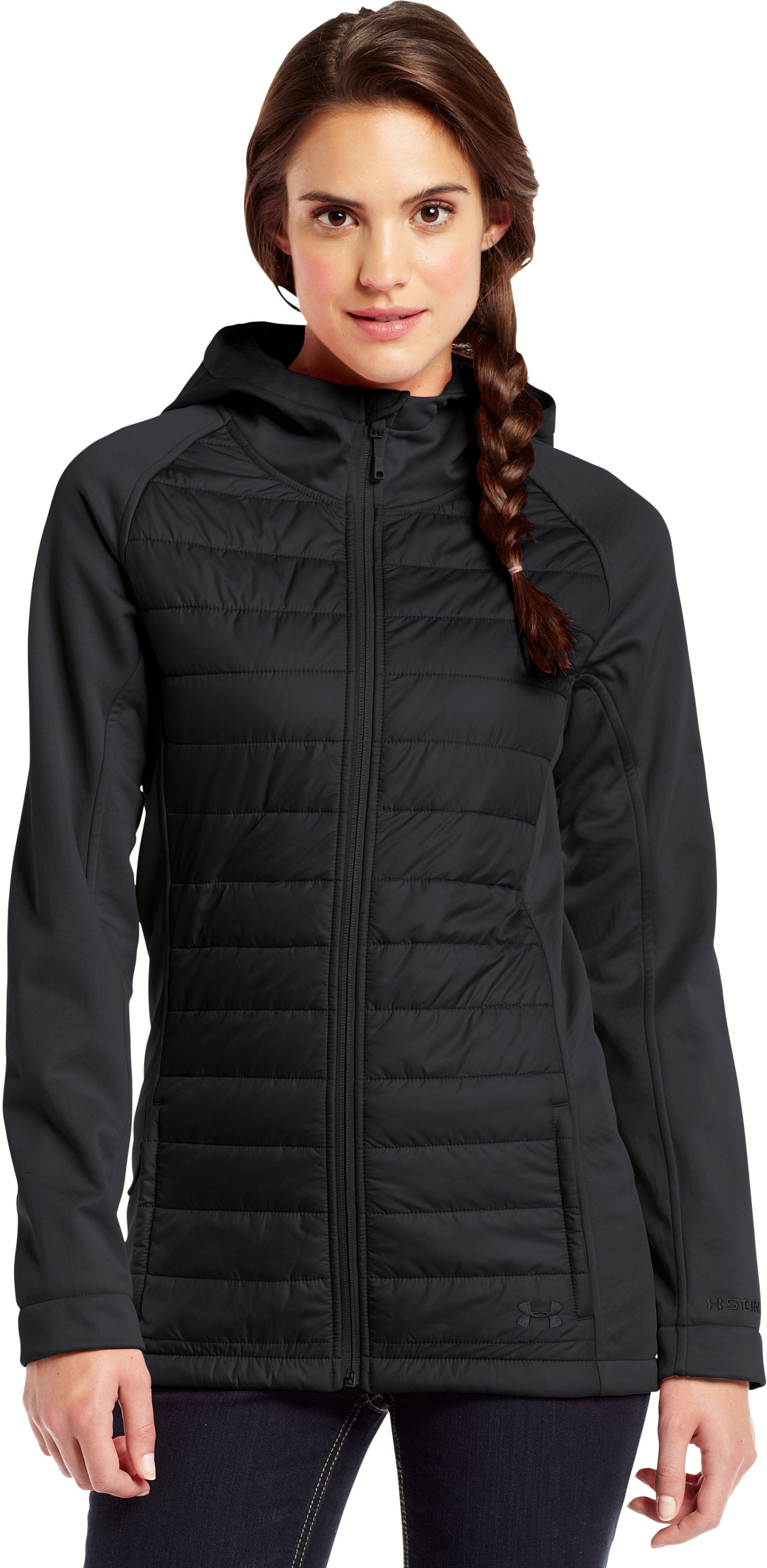 Women's ColdGear® Infrared Werewolf Jacket, Black , zoomed image