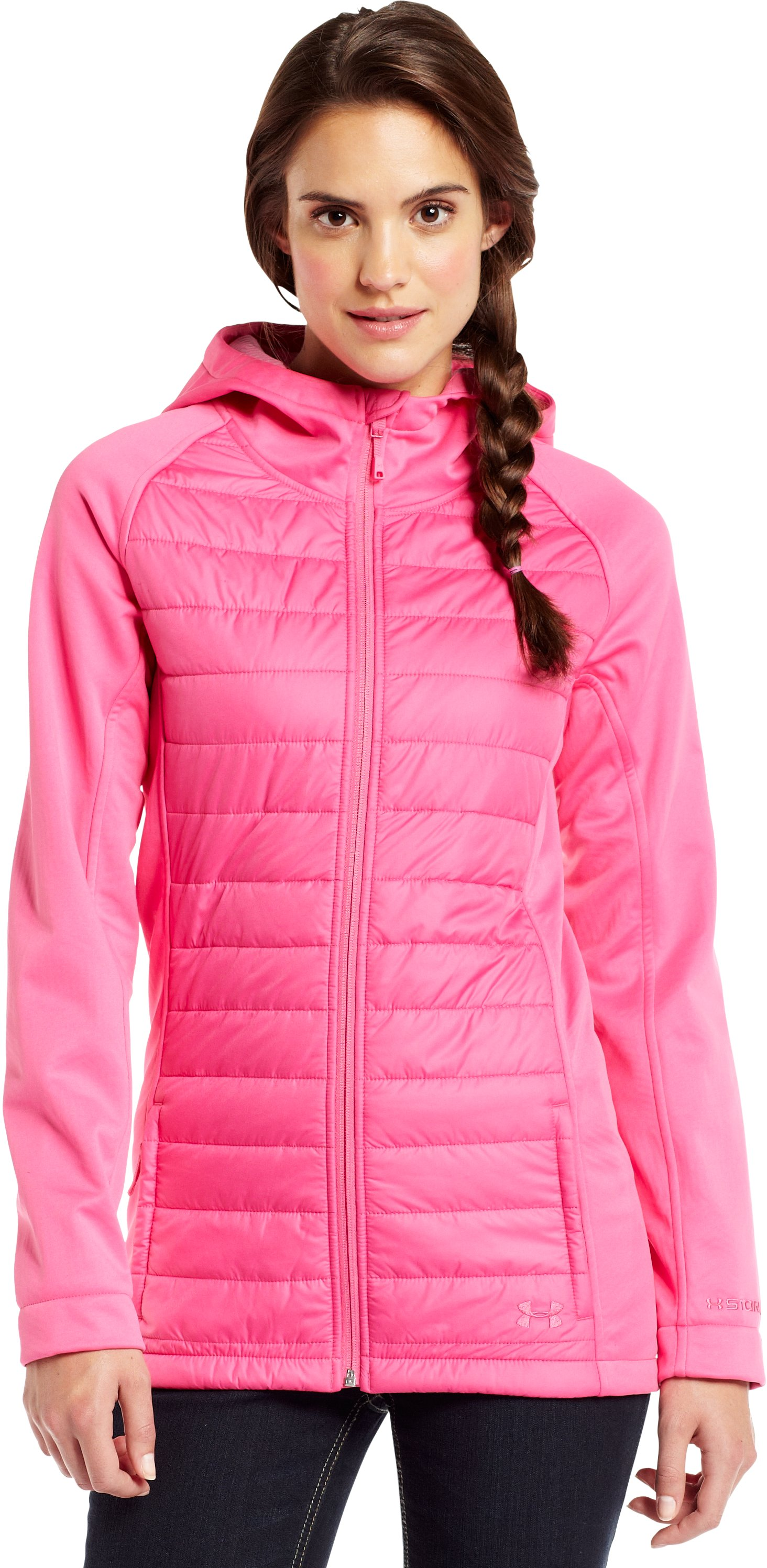 Women's ColdGear® Infrared Werewolf Jacket, Lollipop, Front