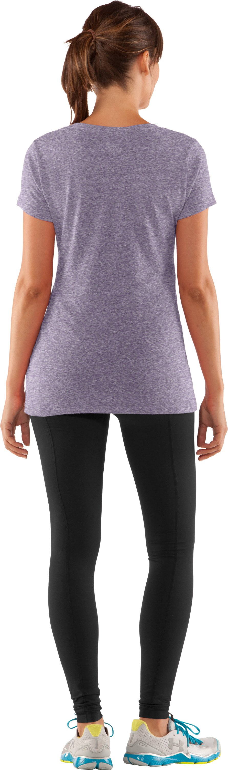 Women's Northwestern Under Armour® Legacy T-Shirt, Purple, Back