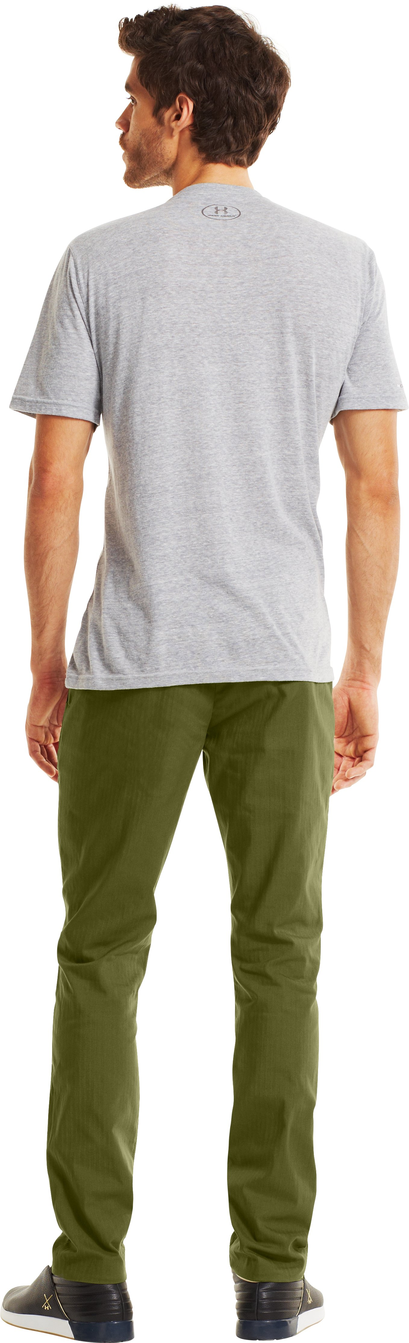 Men's UA Performance Chino – Tapered Leg, Root, Back