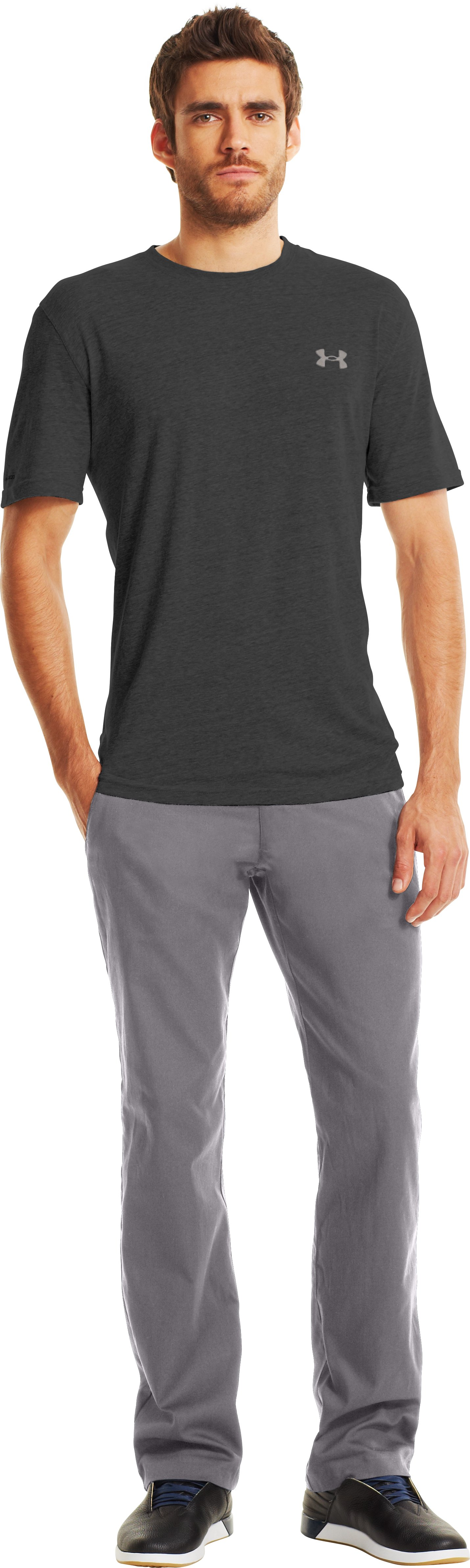 Men's UA Performance Chino, Concrete, zoomed image