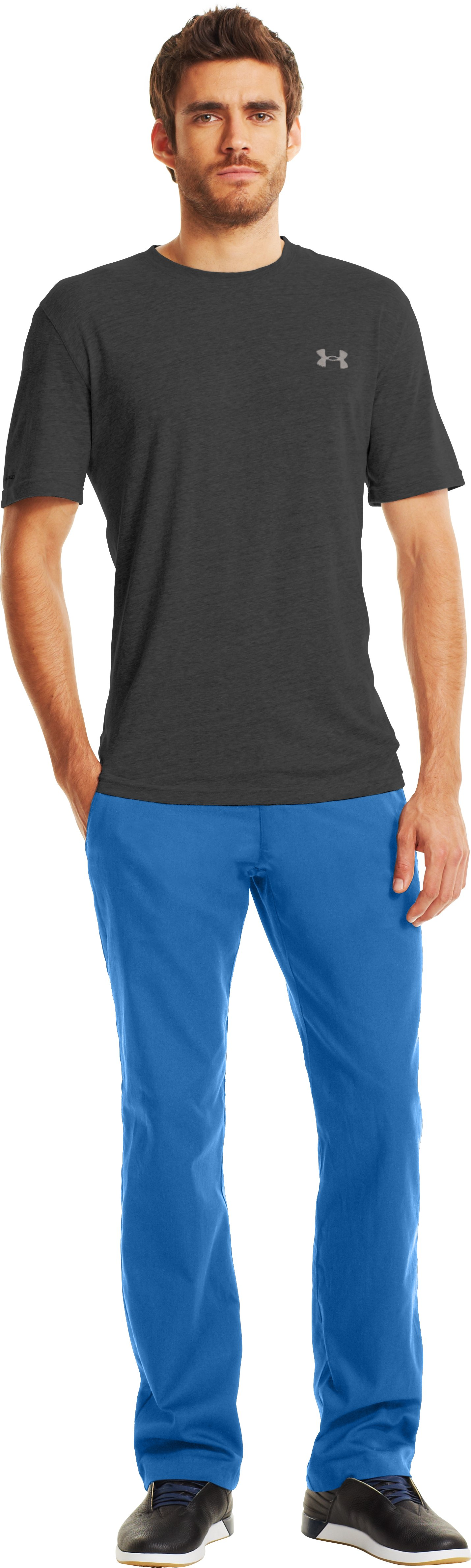 Men's UA Performance Chino, VICTORY BLUE, Front