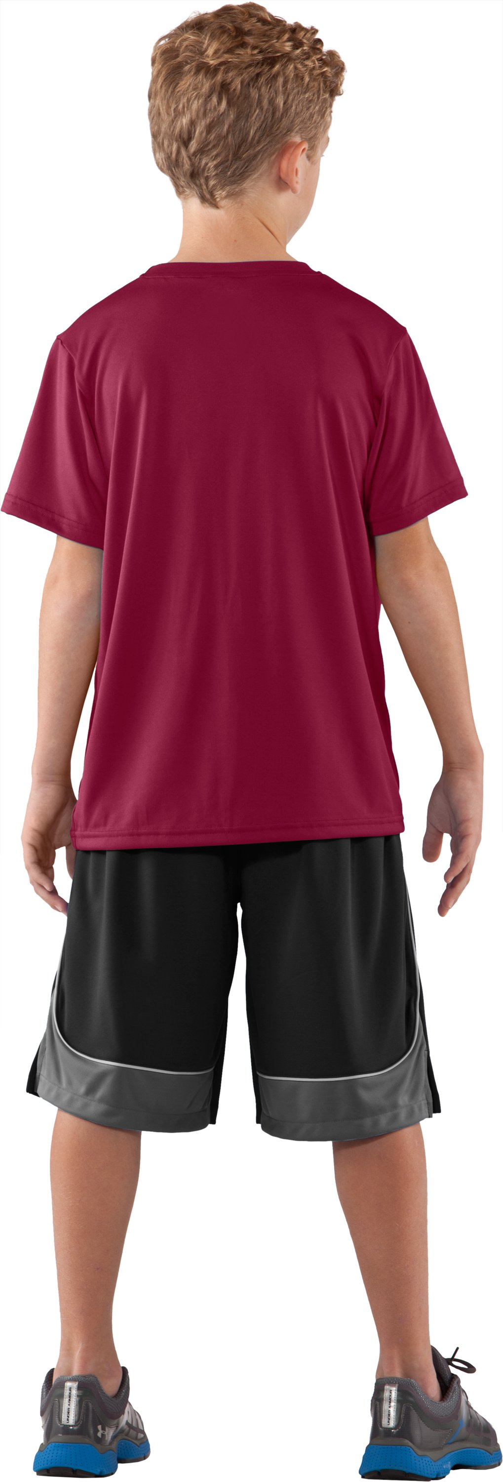 Boys' South Carolina UA Tech™ T-Shirt, Cardinal, Back