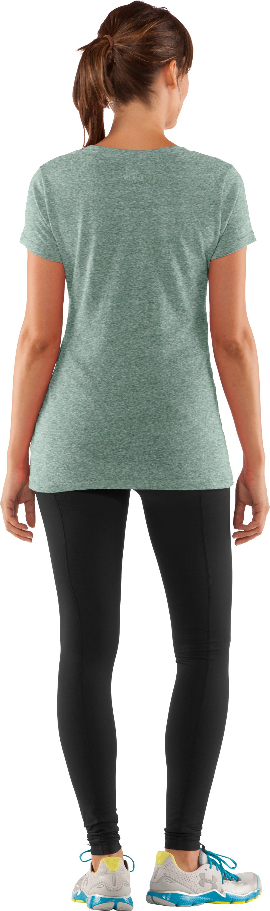 Women's Hawai'i Under Armour® Legacy T-Shirt, Forest Green, Back