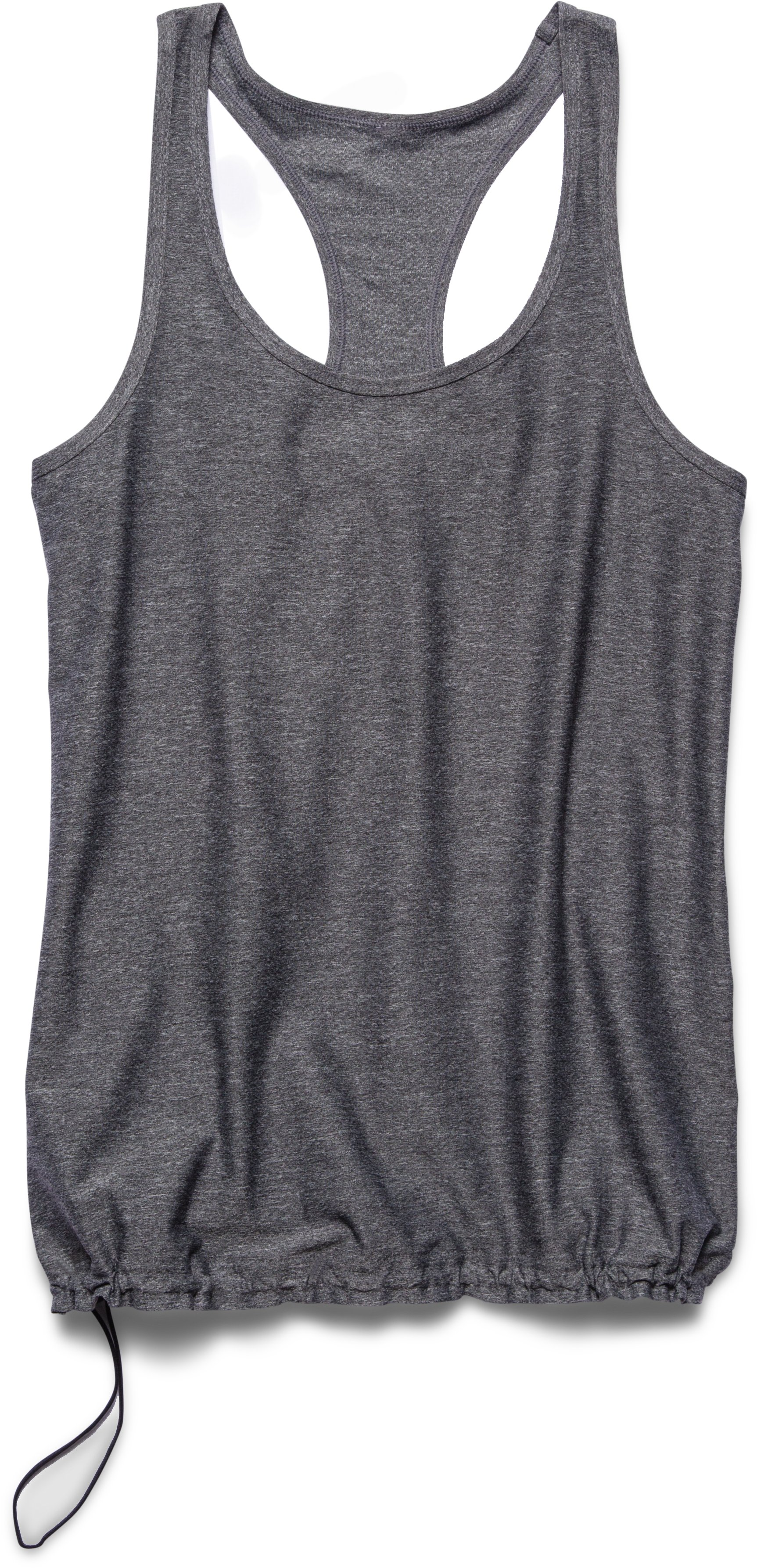 Women's UA Perfect Flowy Tank, Black , Laydown