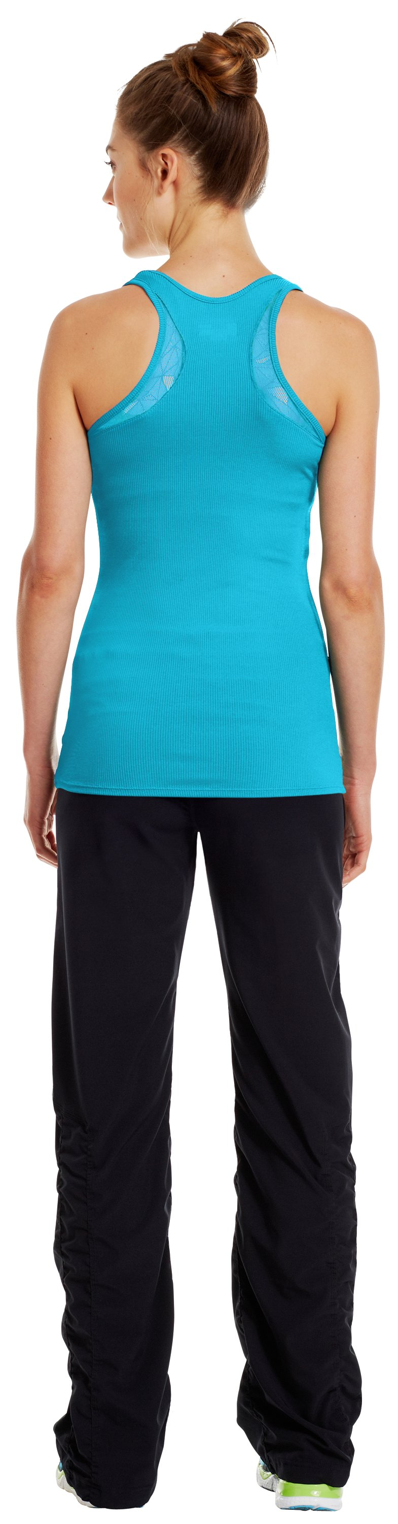 Women's UA Victory Lace Tank, Tobago, Back