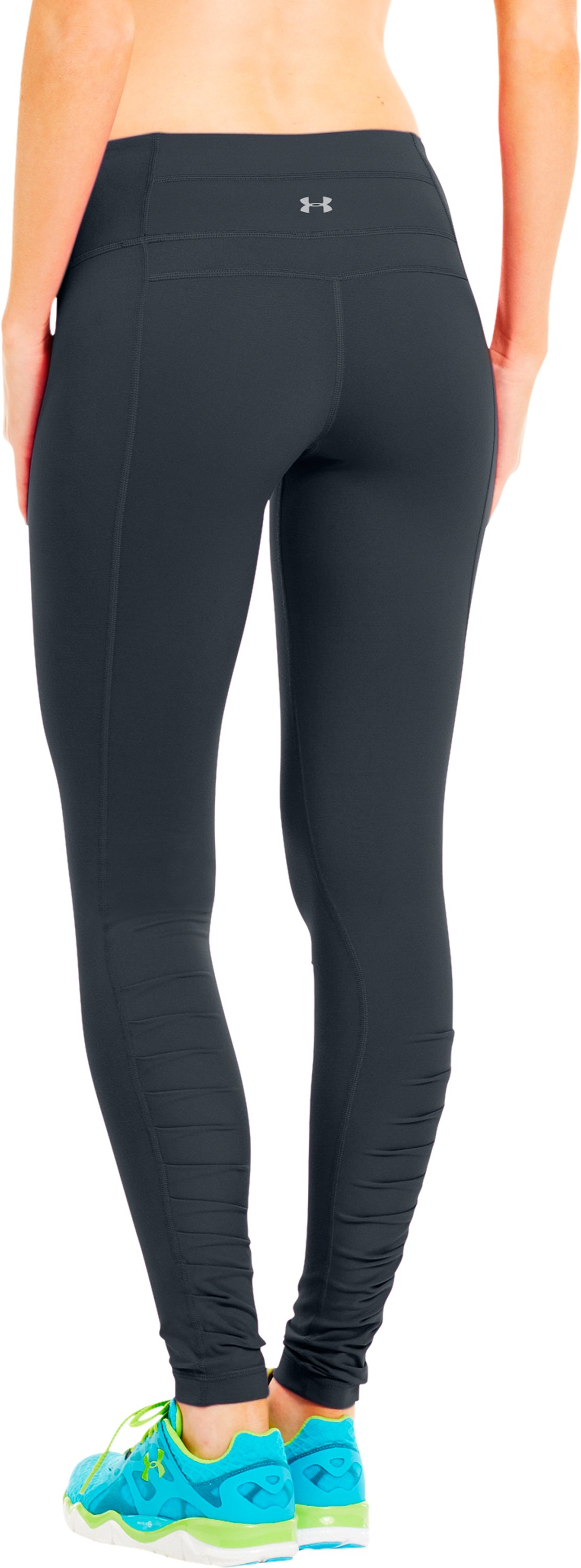 Women's UA Perfect Downtown Legging, ANTHRACITE, zoomed image