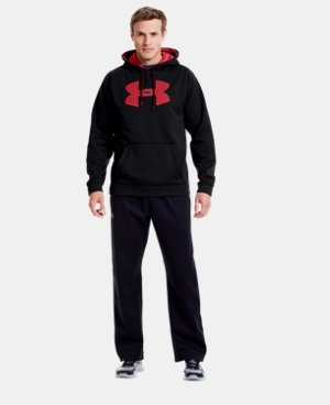 Men's UA Storm Armour® Fleece Big Logo Hoodie LIMITED TIME: FREE U.S. SHIPPING 1 Color $41.99